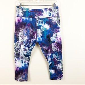 5959da000810d Kyodan Pants   Purple Space Dye Athletic Capri Yoga Pant   Poshmark